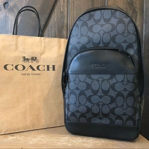 NWT Authentic Coach Signature Backpack